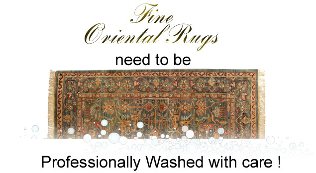 IMPORTANT ADVICE   Never Allow Anyone To Clean Your Oriental Rug Or Area  Rugs In Your Home !